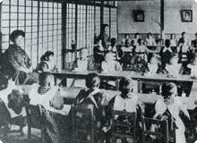 明治40年代 教室が新しく広がった
